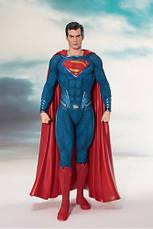 Фигурка Игрушка Супермен. Статуэтка Superman. Человек из стали. Высота:18 см!, фото 3