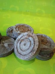 Торфяные таблетки для рассады овощей и цветов, черенков  диаметр 41 мм Украина