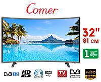 """Телевизор Smart TV, Wi-Fi Comer 32"""" E32DM1100, Комер Cмарт ТВ, Оригинал, фото 1"""