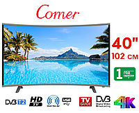 "Телевизор Comer 40"" Smart TV, Wi-Fi,  E40DM1100, Оригинал, фото 1"
