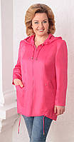 Куртка Асолия-3011 белорусский трикотаж, розовый, 54