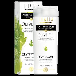 Шампунь Thalia от выпаденияя волос с оливковым маслом 300 мл (3601015)
