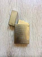 Зажигалка газовая золото в подарочной упаковке