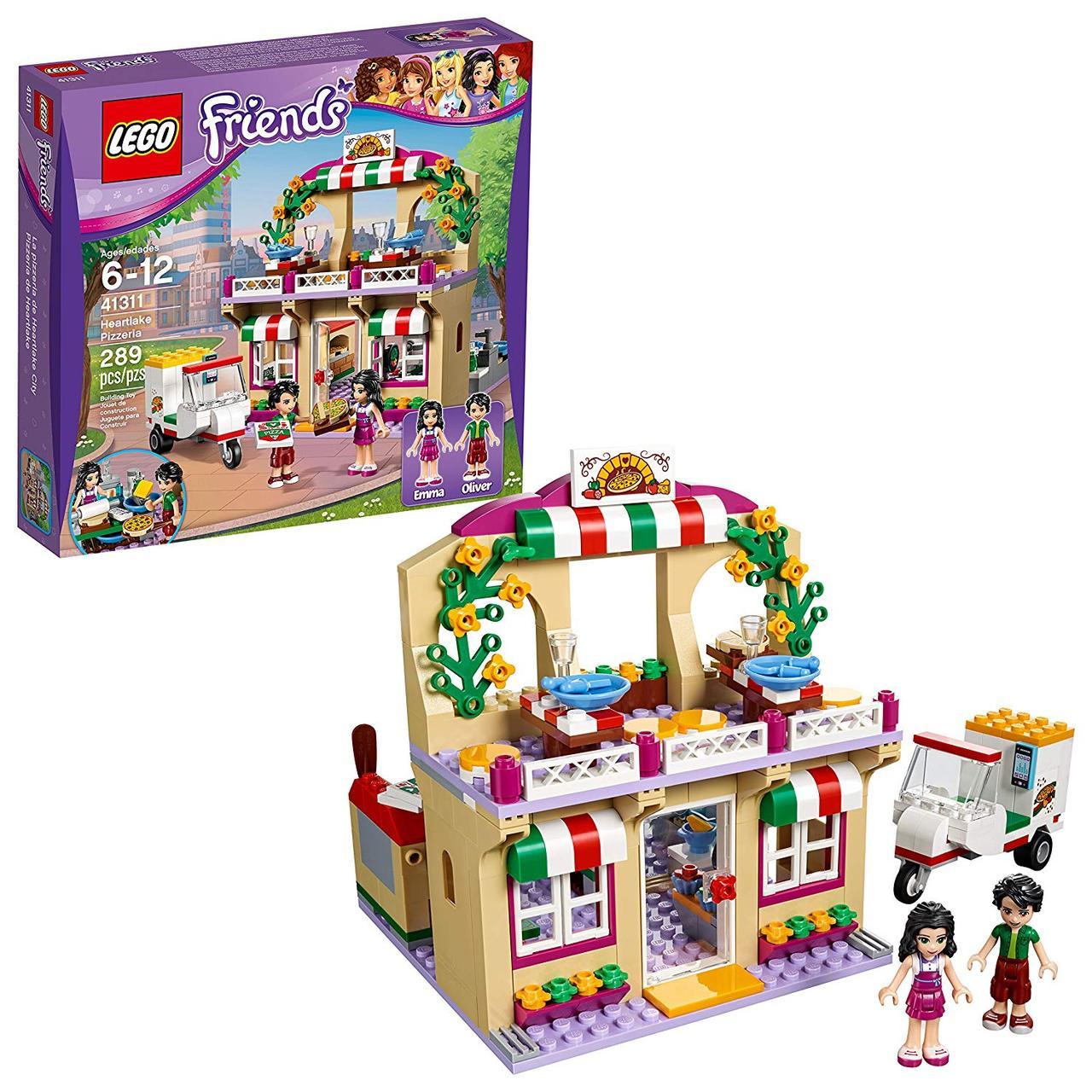 Lego Friends 41311 Heartlake pizzeria. Піцерія Хартлейк Сіті (Конструктор Лего Френдс Пиццерия в Хартлейке)