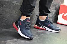 Мужские кроссовки Nike Air Max 270,темно синие с красным 44,46р, фото 3