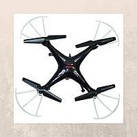 Квадрокоптер на радиоуправлении Syma X5SW с камерой WiFi. черный - 139808