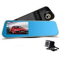 Видеорегистратор зеркало DVR L706 BlackBox Full HD 1080P на 2 камеры, фото 1