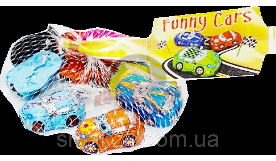 Шоколад молочный Тачки Funni Cars Laika 100г Италия
