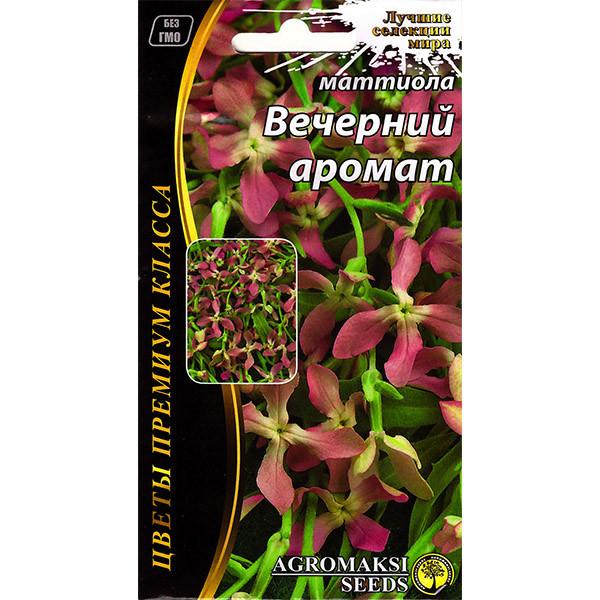 """Насіння матиоллы """"Вечірній аромат"""" (1/10 р) від Agromaksi seeds"""