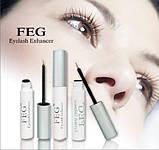 Средство для роста ресниц Feg Eyelash Enhancer ОРИГИНАЛ с голограммой, фото 6