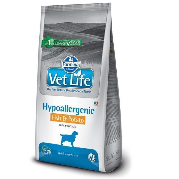 FARMINA Vet Life Dog Hypoallergenic Fish & Potato 2 kg