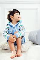 Яркая кофта на молнии с капюшоном для мальчика| Зеленый, фото 1