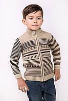 Зимний свитер под горло   Бежевый, фото 1