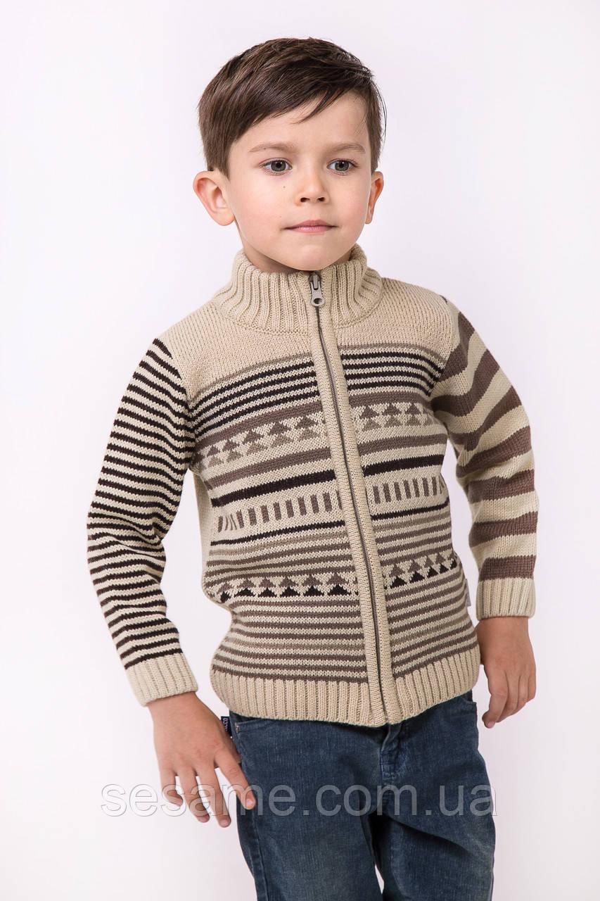 Зимний свитер под горло   Бежевый