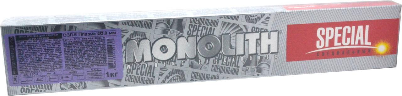 Электроды для сварки разнородных сталей ОЗЛ-6 Плазма Ø 3 мм (упаковка - 1 кг)