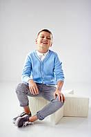 Кардиган на пуговицах | Голубой, фото 1