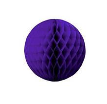 """Шар бумажный """"Соты"""" - 5см фиолетовый"""
