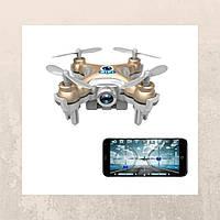Квадрокоптер нано Wi-Fi Cheerson CX-10W с камерой. бежевый - 139774