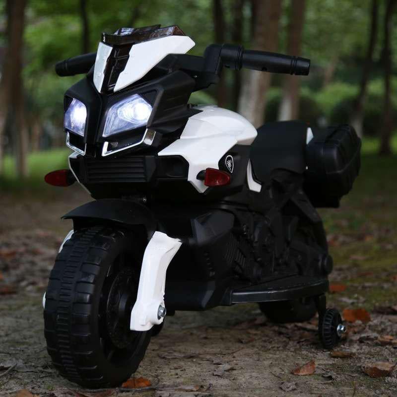 Детский электромотоцикл T-7218 WHITE
