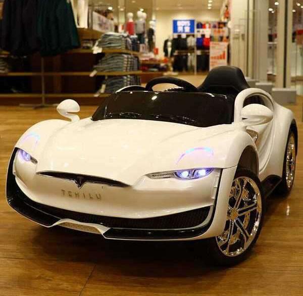 Детский электромобиль Tesla T-7636 белый