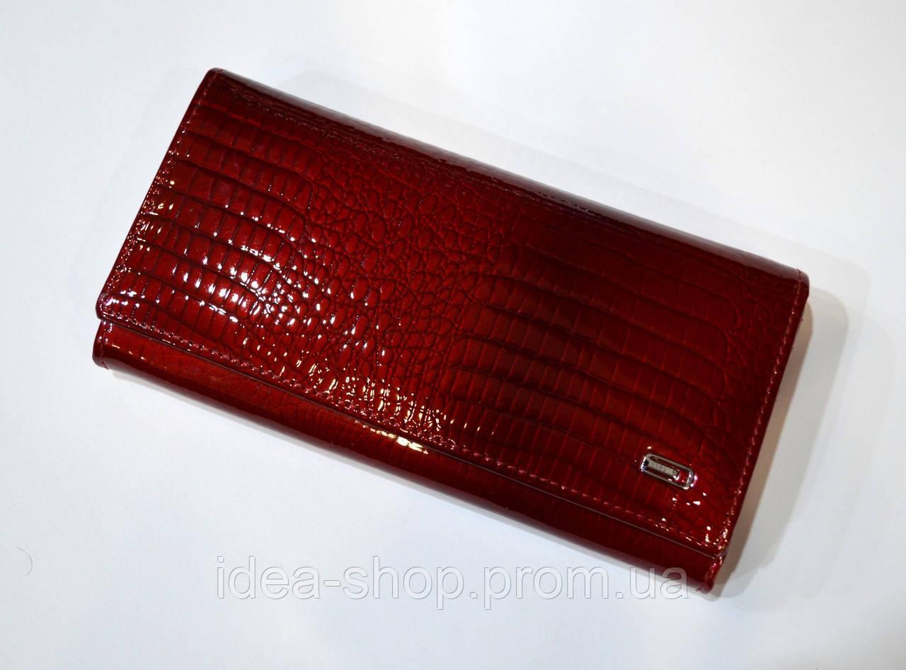 b711a55e8b57 Кошелек женский Balisa классическая модель лаковая кожа красного ...