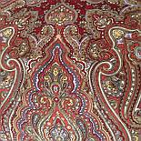 Лучезарный 665-5, павлопосадский платок шерстяной с шелковой бахромой, фото 6