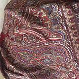 Лучезарный 665-5, павлопосадский платок шерстяной с шелковой бахромой, фото 9