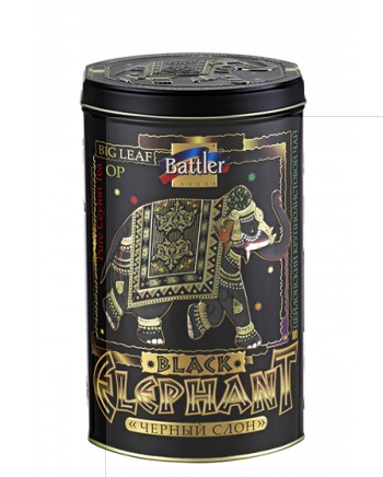 Чай чёрный Black Elephant Battler крупнолистовой 100гр. ж/б
