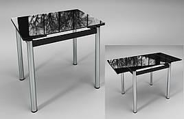 """Раскладной стол """"Ритм"""" черный"""