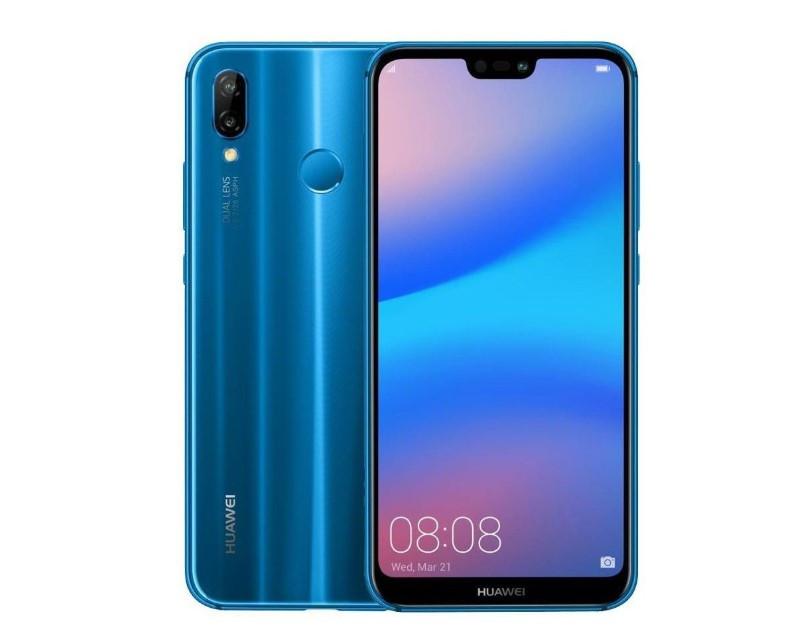 Смартфон HUAWEI P20 Lite 4/64G Blue (51092GPR)