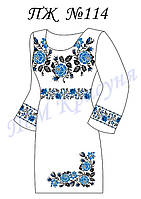 Заготовка на платье женское №114