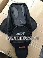 Компактная мото сумка на бак GIVI EA-106 рюкзак мотоцикла на магнитах (реплика) automotosvet