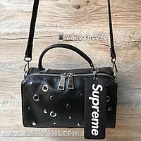 Шикарная женская сумочка кожа Supreme  Polina&Eiterou, фото 1