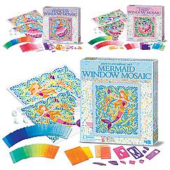 Набор для творчества 4M Мозаика на окно (в ассортименте (Фея/Русалка/Принцесса) (00-04565)
