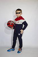 Детский спортивный костюм Adidas для мальчиков дошкольного возраста, тонкий