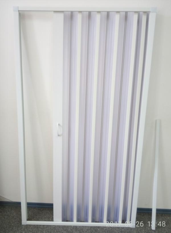 Ширма для ванны и душа прямая 100мх185 мм