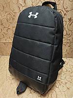 Рюкзак найк UNDER ARMOUR Новые модели с кожаным дном Спортивный городской стильный только ОПТ, фото 1