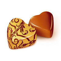 """Конфеты Победа вкуса """"шоколадные Сердечки с ореховым кремом"""""""