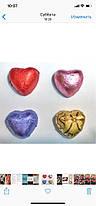 """Конфеты Победа вкуса """"шоколадные Сердечки с ореховым кремом"""", фото 2"""
