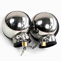 Металлические бондажные наручники