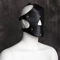 Черная маска бдсм, фото 1