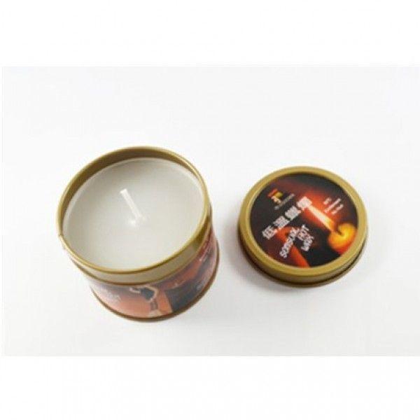 Белая бдсм свеча низкая температура / чувственные горячий воск свечи