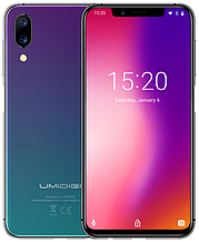 "Umidigi One twilight 4/32 Gb, 5.9"", Helio P23, 3G, 4G"