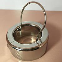 Фиксатор на пенис с металлическим кольцом CBT