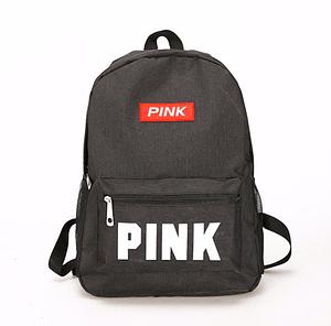 Рюкзак женский городской Pink черный