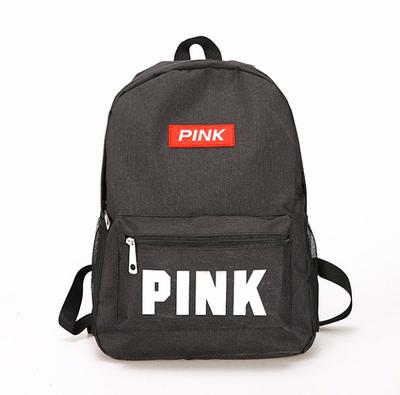 Рюкзак жіночий міський Pink чорний