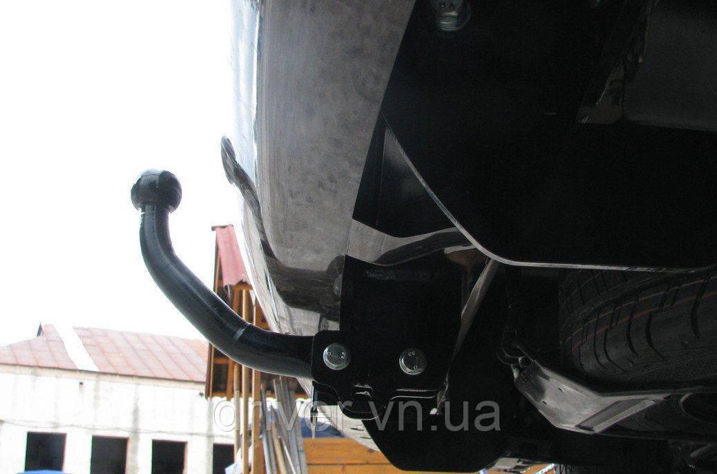 Фаркоп CHEVROLET AVEO седан 2002--. Тип С  (знімний на 2 болтах)