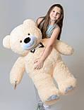 Плюшевий ведмедик Mister Medved Бежевий 130 см, фото 3