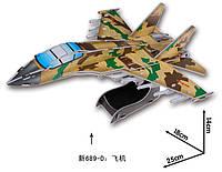 Игрушечная сборная модель самолета из картона