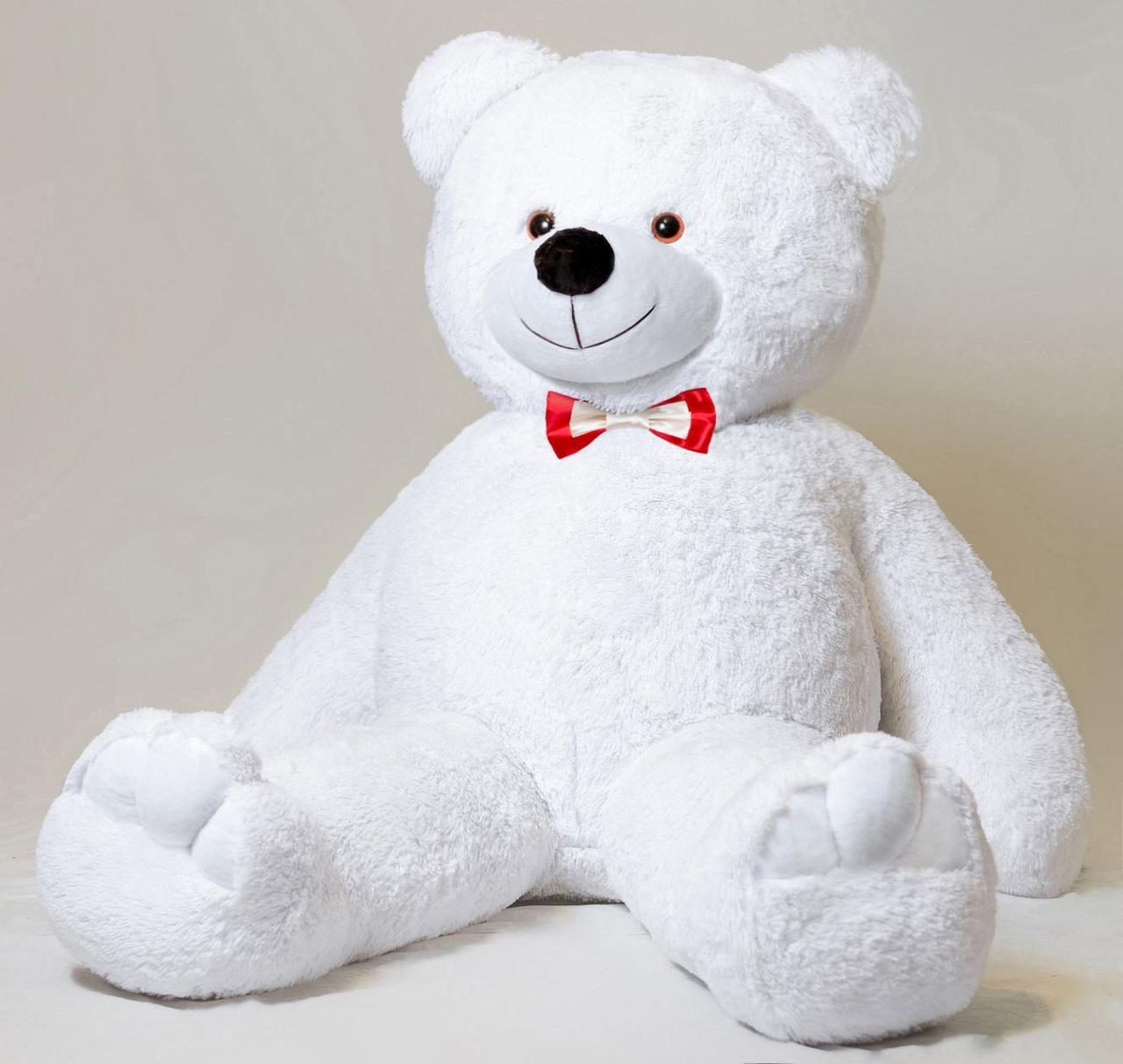 Плюшевий ведмедик Mister Medved Білий 2 метри